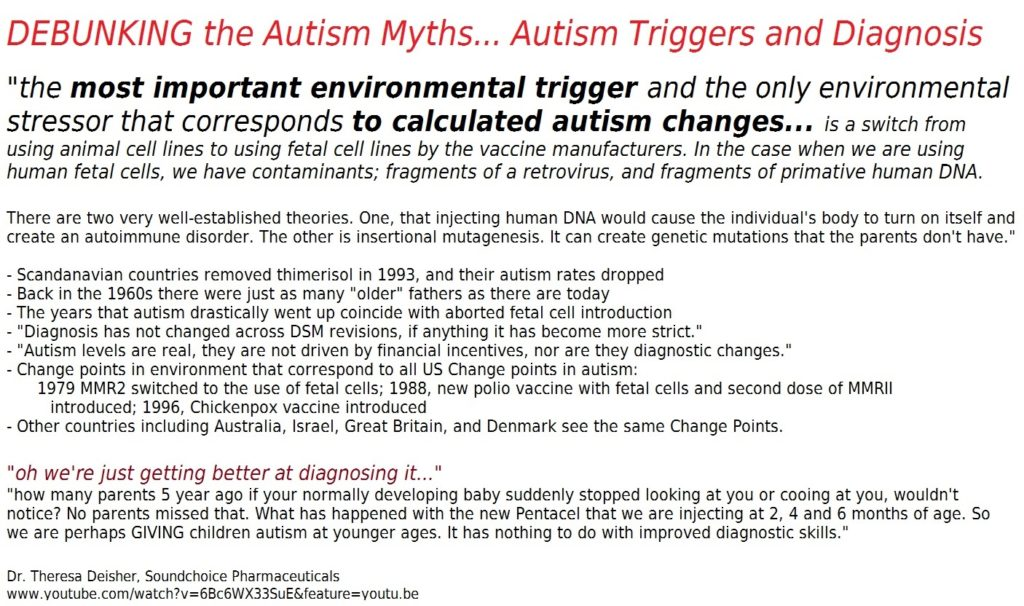 Autism change points diagnosis parental age