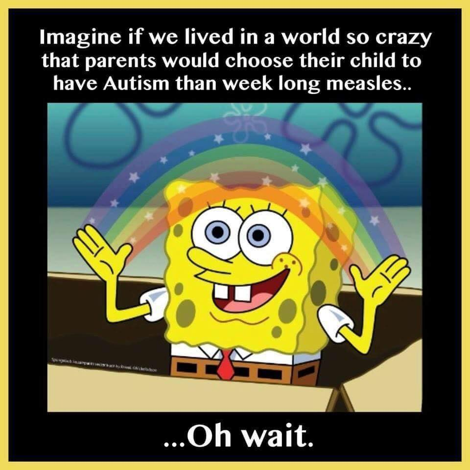 autism or measles
