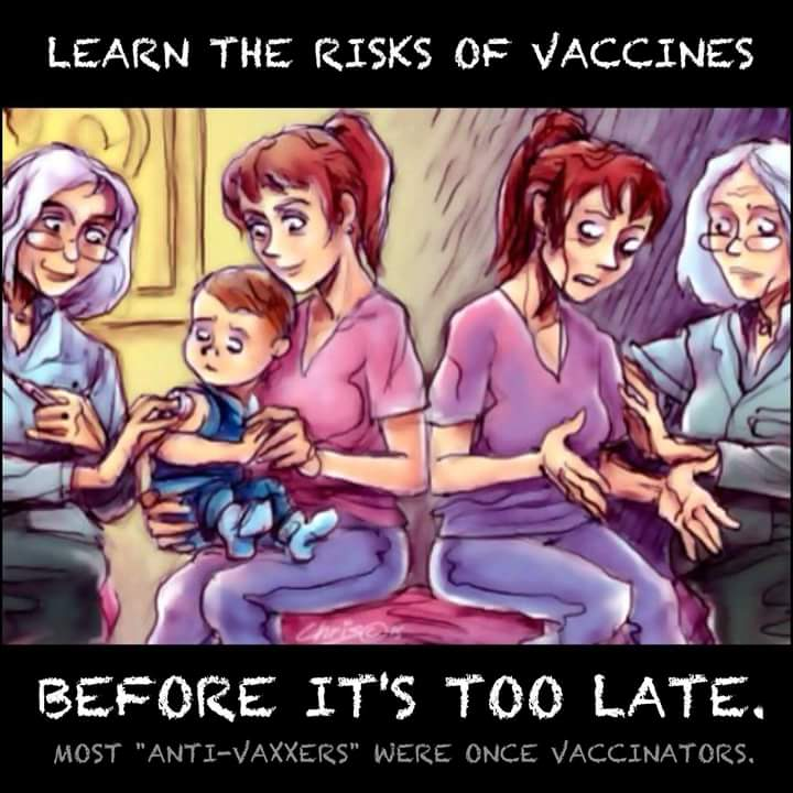 vaxxers were once antivaxxers
